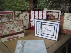 Sample Stamp-A-Stack Cards