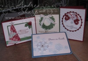 A fun collection of holiday cards