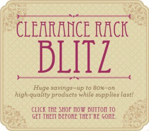 Your chance to save big on great stuff