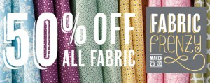 Stampin' Up! fabric sale