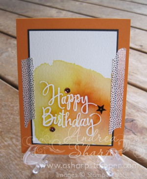 Watercolor Background Greeting