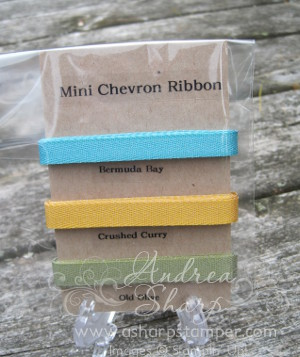 Mini Chevron Ribbon Share