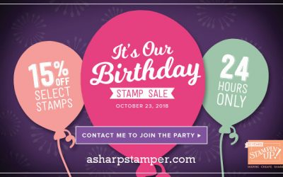 Stampin' Up! Birthday Party!