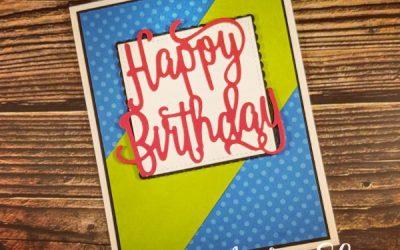 Bright, Bold Birthday