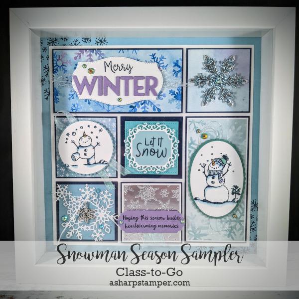 Snowman Season Sampler Class
