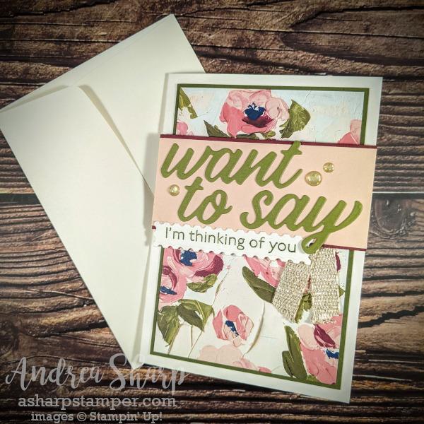 Floral Art Paper