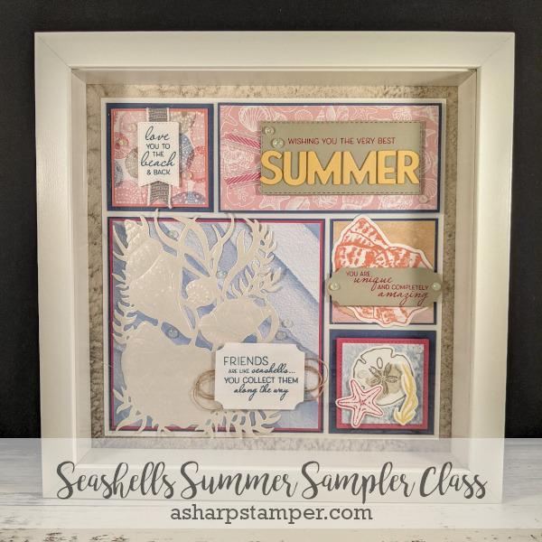 Seashell Sampler Class
