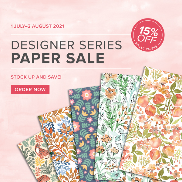 Patterned Paper Sale