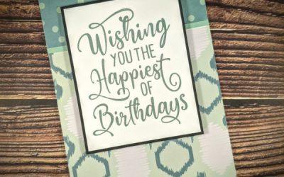 Quick Birthday Wish