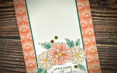 I Love Flower Stamps