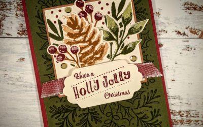Holly Jolly Pinecone